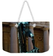War Memorial Statue Youth In Nashville Weekender Tote Bag