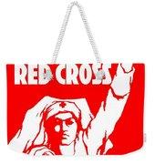War Poster - Ww1 - Help The Red Cross Weekender Tote Bag