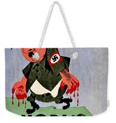 War Poster - Ww2 - Out With The Fuhrer Weekender Tote Bag