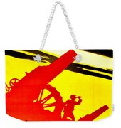 War Poster - Ww1 - Feed The Guns Weekender Tote Bag