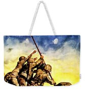 War Poster - Ww2 - Iwo Jima Weekender Tote Bag