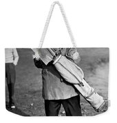 War Time On The Golf Course Weekender Tote Bag