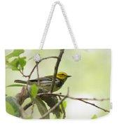 Warbler - Black-throated Green  Weekender Tote Bag