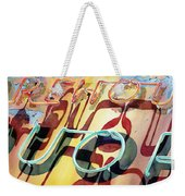 Warehouse Liquor Weekender Tote Bag