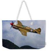 Warhawk Curtiss P-40  Weekender Tote Bag