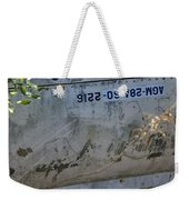Warhead Compartment Weekender Tote Bag