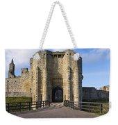 Warkworth Castle Gate House Weekender Tote Bag
