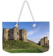 Warkworth Castle In Spring Weekender Tote Bag