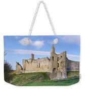 Warkworth Castle Panorama Weekender Tote Bag