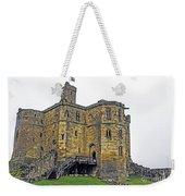 Warkworth In The Fog Weekender Tote Bag