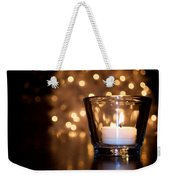 Warm Christmas Glow Weekender Tote Bag