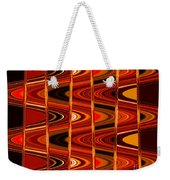 Warm Colors Lines And Swirls Abstract Weekender Tote Bag