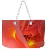 Warm Glow Pink Rose 2 Weekender Tote Bag