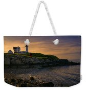 Warm Nubble Dawn Weekender Tote Bag