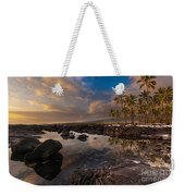 Warm Reflected Place Of Refuge Skies Weekender Tote Bag