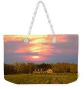Warm Spring Sunset Weekender Tote Bag