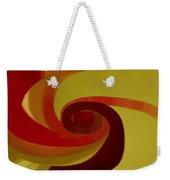Warm Swirl Weekender Tote Bag