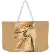 Warm Tree Weekender Tote Bag