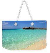 Warm Welcoming. Maldives Weekender Tote Bag