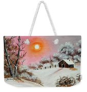 Warm Winter Day After Bob Ross Weekender Tote Bag
