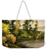The Bottoms - Warming Up Weekender Tote Bag