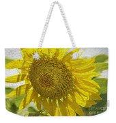 Warmth Upon My Back - Sunflower Weekender Tote Bag