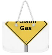 Warning Sign Poison Gas Weekender Tote Bag