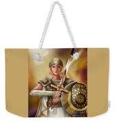 Warrior Bride Weekender Tote Bag