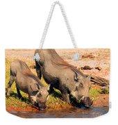 Warthog Family Weekender Tote Bag
