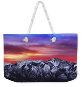 Wasatch Sunrise 2x1 Weekender Tote Bag