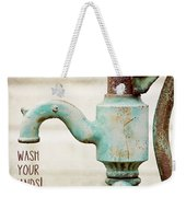Wash Your Hands Child's Bathroom Decor Weekender Tote Bag