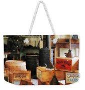 Washboards And Soap Weekender Tote Bag by Susan Savad