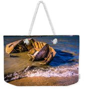 Washed Up Weekender Tote Bag by Dawn OConnor