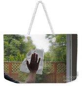 Washing A Window Weekender Tote Bag