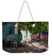 Washing Clothes Weekender Tote Bag