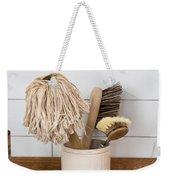 Washing Up Equipment Weekender Tote Bag by Tom Gowanlock