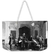 Washington And Lafayette Weekender Tote Bag