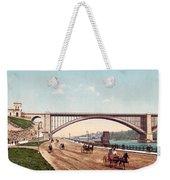 Washington Bridge 1901 Weekender Tote Bag