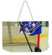 Washington Capitals Blue Away Hockey Jersey Weekender Tote Bag