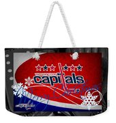 Washington Capitals Christmas Weekender Tote Bag
