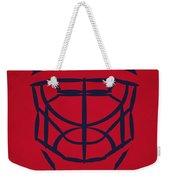 Washington Capitals Goalie Mask Weekender Tote Bag