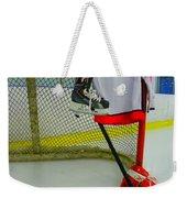 Washington Capitals Home Hockey Jersey Weekender Tote Bag