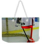 Washington Capitals Mike Green Away Hockey Jersey Weekender Tote Bag
