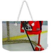 Washington Capitals Nicklas Backstrom Home Hockey Jersey Weekender Tote Bag