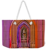 Washington Cathedral Light Show Weekender Tote Bag