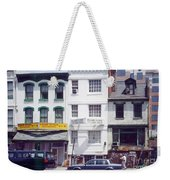 Washington Chinatown In The 1980s Weekender Tote Bag by Thomas Marchessault