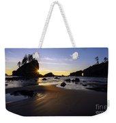 Washington Coast Evening Sunstar Tide Weekender Tote Bag