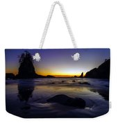 Washington Coast Tides Retreat Weekender Tote Bag