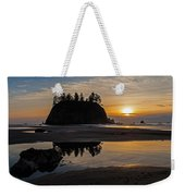 Washington Coast Tranquility Weekender Tote Bag