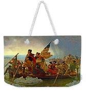 Washington Crossing The Delaware Emanuel Leutze 1851 Weekender Tote Bag